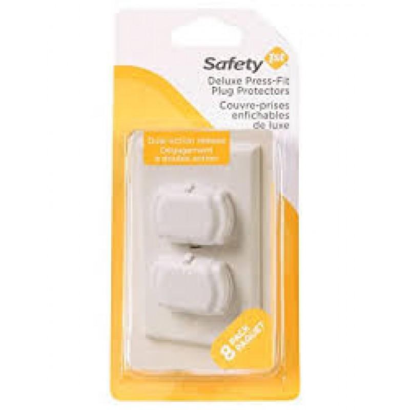 Safety 1st - Couvre-Prises Enfichable de Luxe