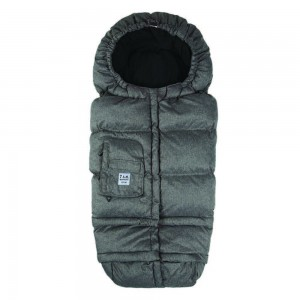 7AM - B212 Evolution Footmuff Heather Dark Grey