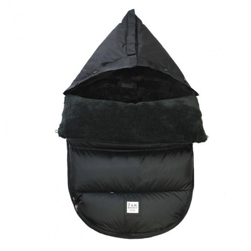 7AM - Plush Pod (0-18M) - Black