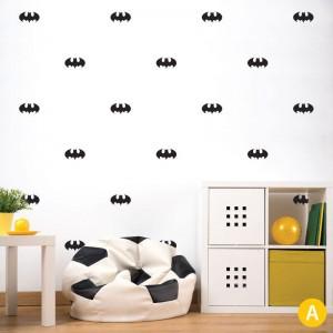 AD-Zif - Autocollant Mural - Chauve-souris
