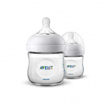 Avent - Natural Baby Bottle 4oz (2 Pack)