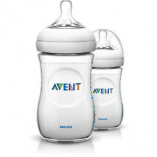 Avent - Natural Baby Bottle 9oz (2 Pack)
