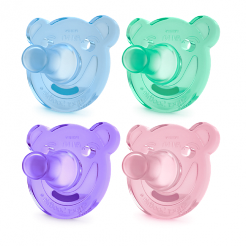 Avent - Soothie Pacifiers 0-3M