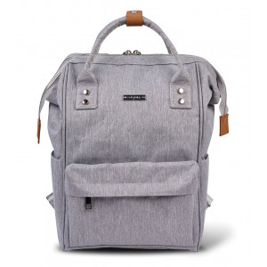 BabaBing - Backpack Changing Bag - Grey Fabric