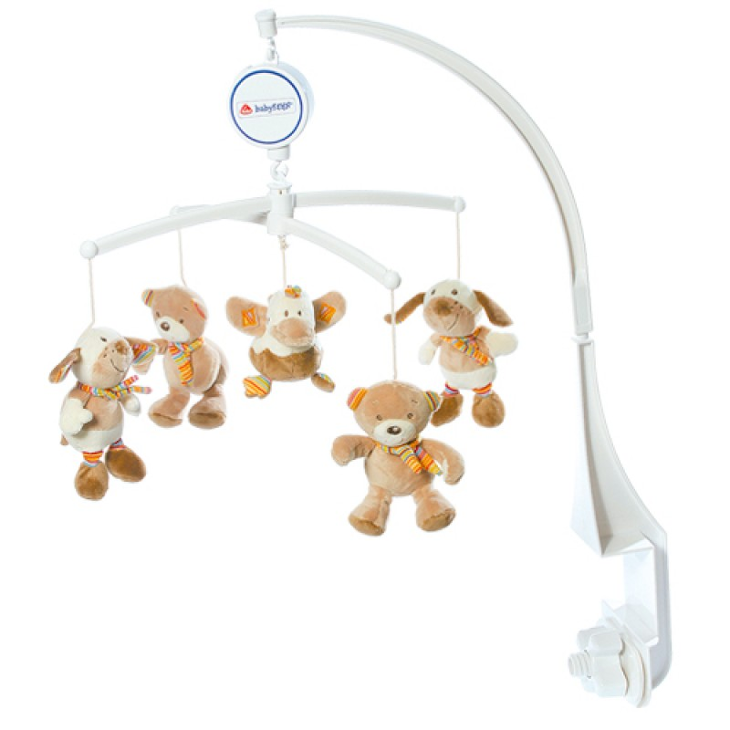 Baby Fehn - Musical Mobile - Rainbow