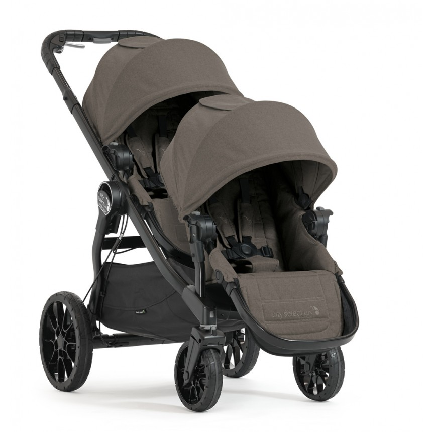 Baby Jogger - City Select Lux Stroller Combo - Taupe
