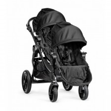 Baby Jogger - City Select Stroller + Second Seat - Black Frame