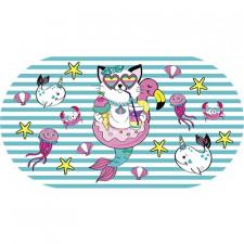 Bbdoo - Anti-Slip Bath Mat - Cat