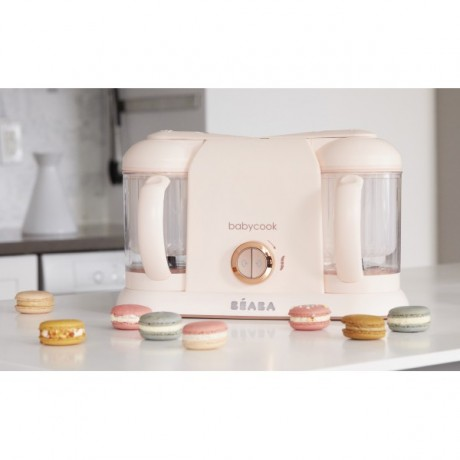 Beaba - Robot culinaire Babycook Plus - Or Rose