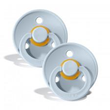 Bibs - Natural Rubber Pacifiers 0-6M - 2pk