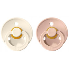 Bibs - Natural Rubber Pacifiers 6-18M