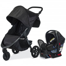 Britax - B-Free Travel System - Midnight
