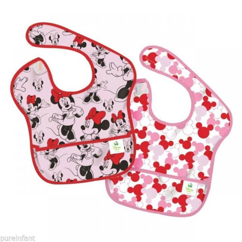 Bumkins - Superbib Minnie Mouse 2Pk