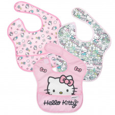 Bumkins - SuperBib 3pk - Hello Kitty