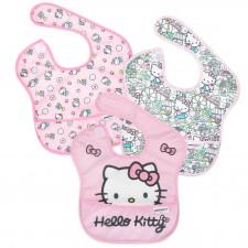 Bumkins - SuperBib 3pk - Hello Kitty