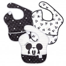Bumkins - SuperBib 3pk - Love, Mickey