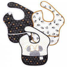 Bumkins - SuperBib 3pk - Love, Minnie