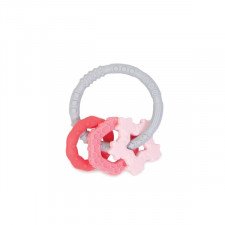 Bumkins - Silicone Teething Charms - Pink