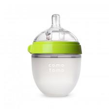 Comotomo - Silicone Baby Bottle 150ml/5oz - Green