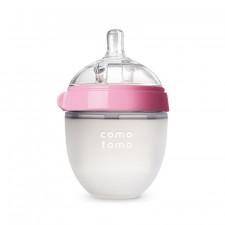 Comotomo - Silicone Baby Bottle 150ml/5oz - Pink