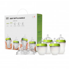 Comotomo - Baby Bottle Bundle - Green