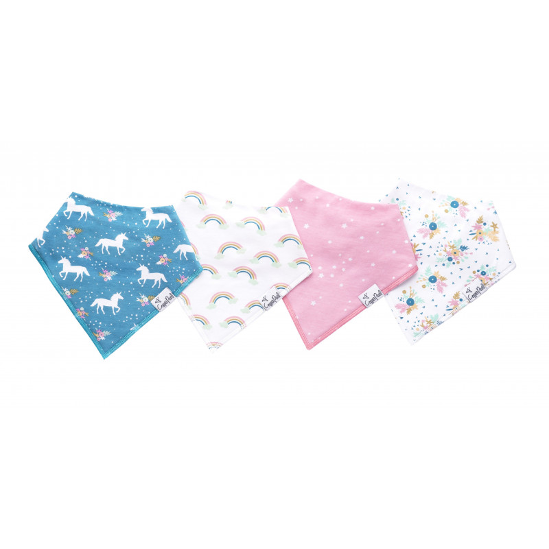 Copper Pearl - Bandana Bibs - Whimsy