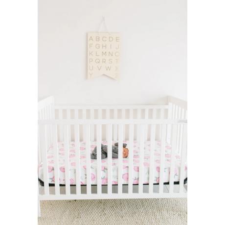 Copper Pearl - Premium Fitted Crib Sheet - Grace