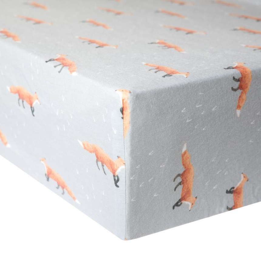 Copper Pearl - Premium Fitted Crib Sheet - Swift
