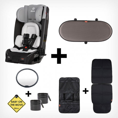 Diono - Car Seat Radian 3RXT Special Edition - Black/Grey