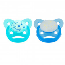 Dr. Brown's - PreVent Glow in the Dark Pacifiers - Blue