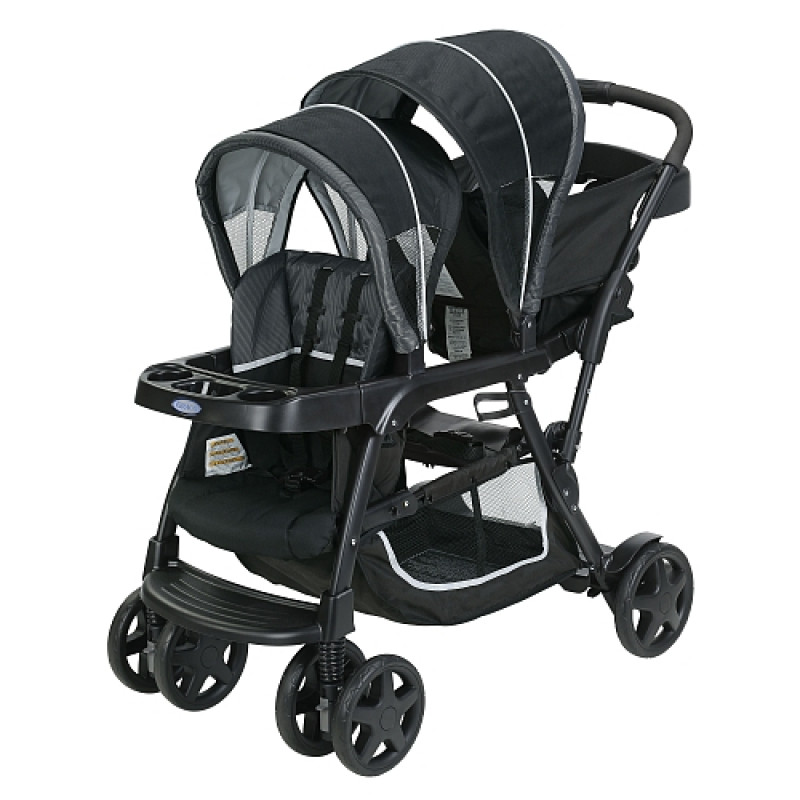 Graco  - Poussette - Ready2Grow Click Connect Stand and Ride - Gotham