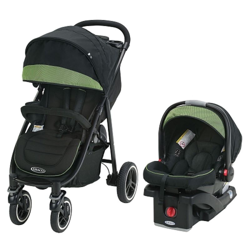 Graco - Aire4 XT Click Connect Travel System - Emory