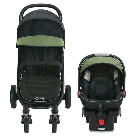 Graco - Aire4 XT Click Connect Travel System -Emory
