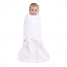 Halo - Sleepsack Swaddle Premium 1.5T - Blush Twinkle