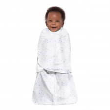 Halo - Sleepsack Swaddle Cotton 1.5T - Midnight Moons Blue