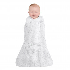 Halo - Sleepsack Swaddle Cotton 1.5T - Midnight Moons Grey