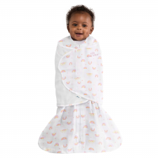 Halo - Sleepsack Swaddle Cotton 1.5T - Sunshine Rainbows