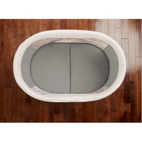 Ingenuity - FoldAway Rocking Wood Bassinet - Wallace