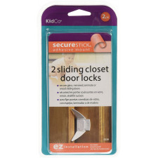 KidCo - 2 Sliding Closet Door Locks