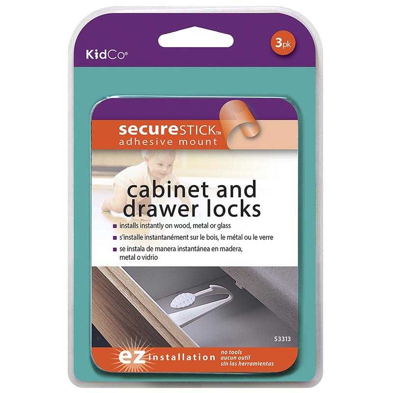 KidCo - Cabinet and Drawer locks