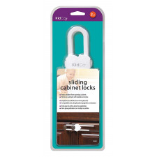 KidCo - 2 Sliding Cabinet Locks