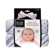 Kidi  Comfort - Hooded Towels - Grey