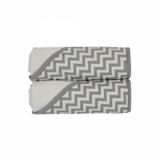 KidiComfort - Hodded Towels 2 Pack - Grey