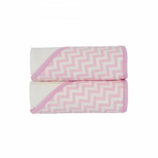 KidiComfort - Hodded Towels 2 Pack - Pink