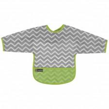 Kushies - Cleanbib With Sleeves - 6-12m