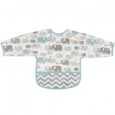 Kushies - Cleanbib With Sleeves (6-12m)
