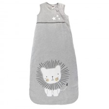 Kushies -  Heather Grey Lion Sleep Bag  - 6M