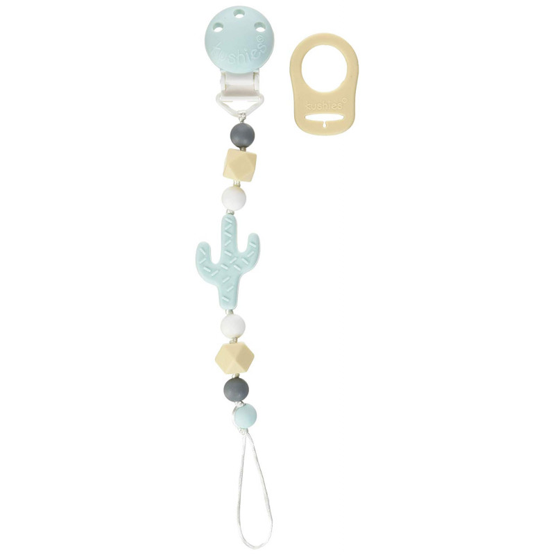 Kushies - SiliBeads Silicone Pacifier Clip