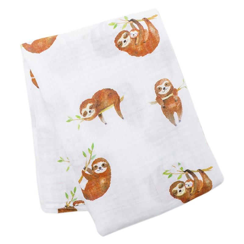 Lulujo - Cotton Muslin Swaddle Blanket