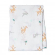 Lulujo - Cotton Muslin Swaddle Swaddle Blanket